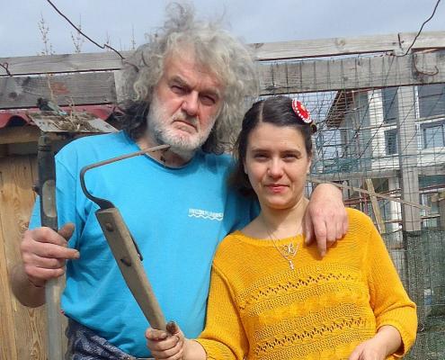д-р Донка Радева и Константин Янев